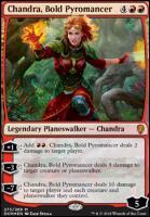 Dominaria: Chandra, Bold Pyromancer (Foil - Planeswalker Deck)