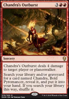 Dominaria: Chandra's Outburst (Planeswalker Deck)