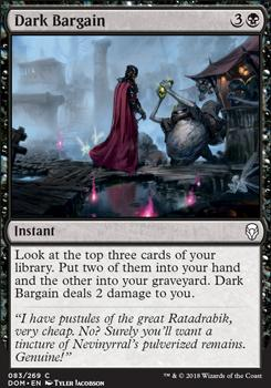 Dominaria Foil: Dark Bargain