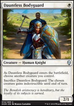 Dominaria: Dauntless Bodyguard
