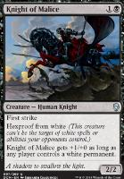 Dominaria: Knight of Malice