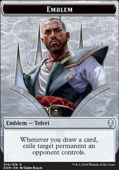 Dominaria: Emblem (Teferi)