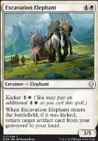 Dominaria Foil: Excavation Elephant