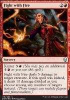 Wizard/'s Lightning NM Foil English MTG Dominaria StrikeZoneOnline Magic Card