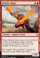 Dominaria: Firefist Adept