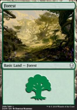 Dominaria: Forest (268 C)