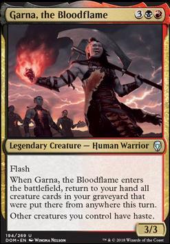 Dominaria: Garna, the Bloodflame