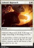Dominaria: Gideon's Reproach