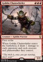 Dominaria: Goblin Chainwhirler
