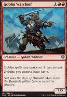 Dominaria: Goblin Warchief