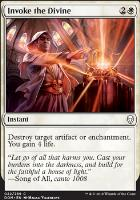 Dominaria Foil: Invoke the Divine