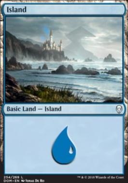 Dominaria: Island (254 A)