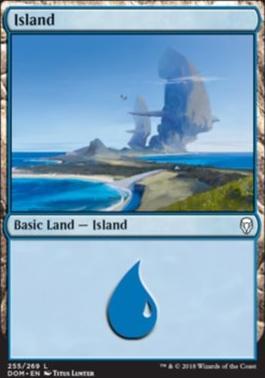 Dominaria Foil: Island (255 B)