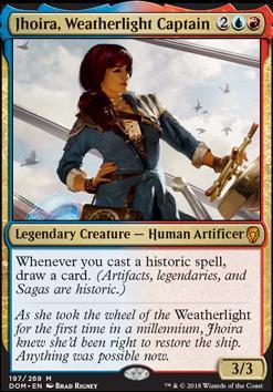 Dominaria: Jhoira, Weatherlight Captain