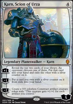 Dominaria: Karn, Scion of Urza