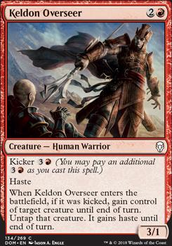 Dominaria: Keldon Overseer