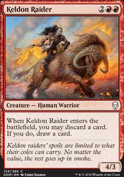 Dominaria: Keldon Raider