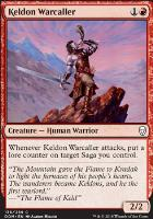Dominaria Foil: Keldon Warcaller