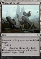 Dominaria: Memorial to Folly