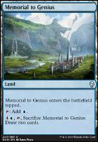 Dominaria Foil: Memorial to Genius