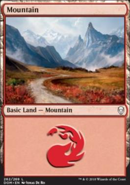 Dominaria: Mountain (262 A)