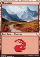 Dominaria: Mountain (262 A)