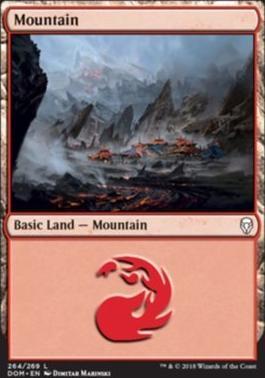 Dominaria: Mountain (264 C)