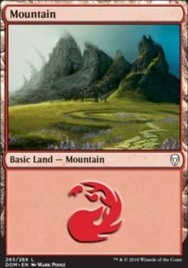 Dominaria: Mountain (265 D)