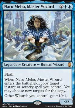 Dominaria: Naru Meha, Master Wizard
