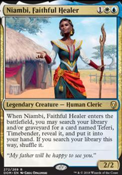 Dominaria: Niambi, Faithful Healer (Planeswalker Deck)