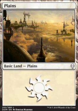 Dominaria Foil: Plains (252 C)