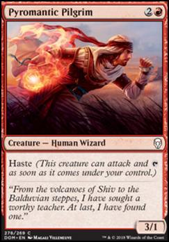 Pyromantic Pilgrim | Dominaria | Standard | Card Kingdom