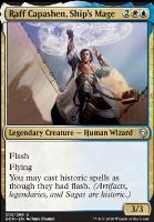 Dominaria Foil: Raff Capashen, Ship's Mage