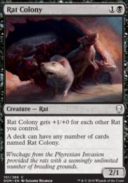 Dominaria: Rat Colony