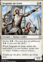 Dominaria Foil: Sergeant-at-Arms