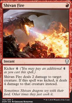 Dominaria Foil: Shivan Fire