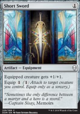 Dominaria: Short Sword