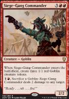 Dominaria Foil: Siege-Gang Commander