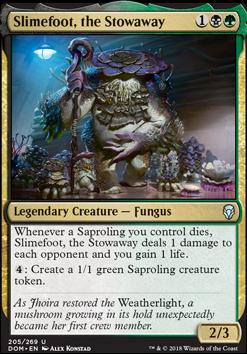 Dominaria Foil: Slimefoot, the Stowaway