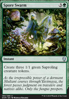Spore Swarm Dominaria Magic The Gathering