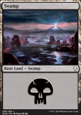 Dominaria: Swamp (258 A)