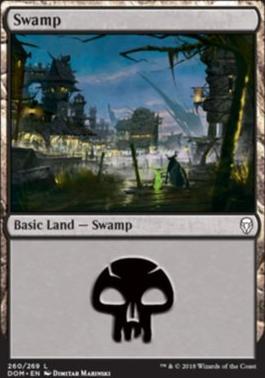 Dominaria Foil: Swamp (260 C)