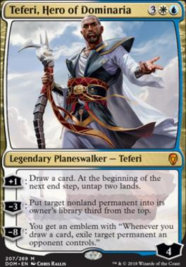 Dominaria: Teferi, Hero of Dominaria