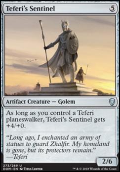 Dominaria: Teferi's Sentinel (Planeswalker Deck)