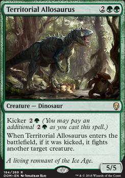 Dominaria: Territorial Allosaurus