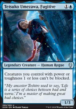 Dominaria: Tetsuko Umezawa, Fugitive