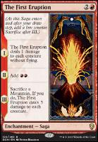 Dominaria Foil: The First Eruption