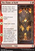 Dominaria Foil: The Flame of Keld