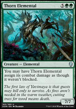 Dominaria: Thorn Elemental
