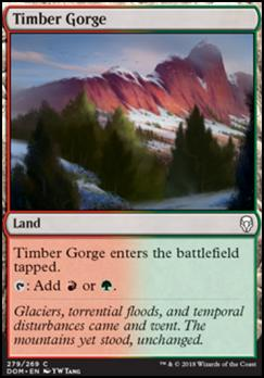 Dominaria: Timber Gorge (Planeswalker Deck)
